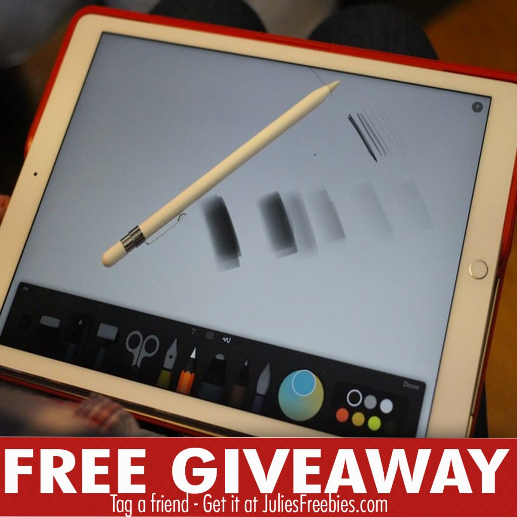 Apple iPad + Apple Pencil Giveaway - Julie's Freebies