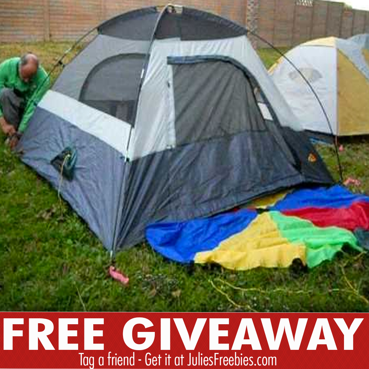 Camping giveaway 2018