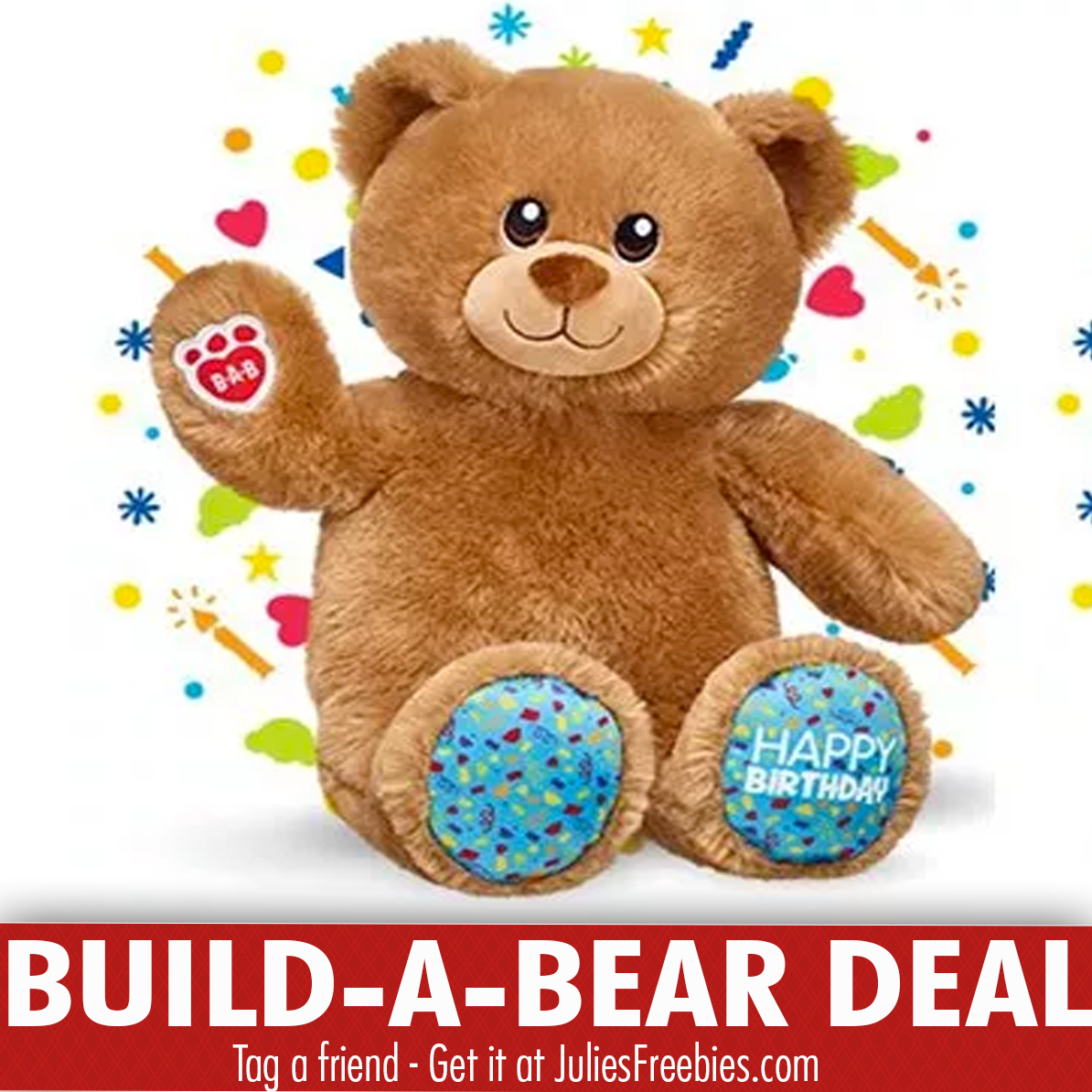 1486481ea65 Pay Your Age Build-a-Bear Deal (During Your Child s Birthday Month ...