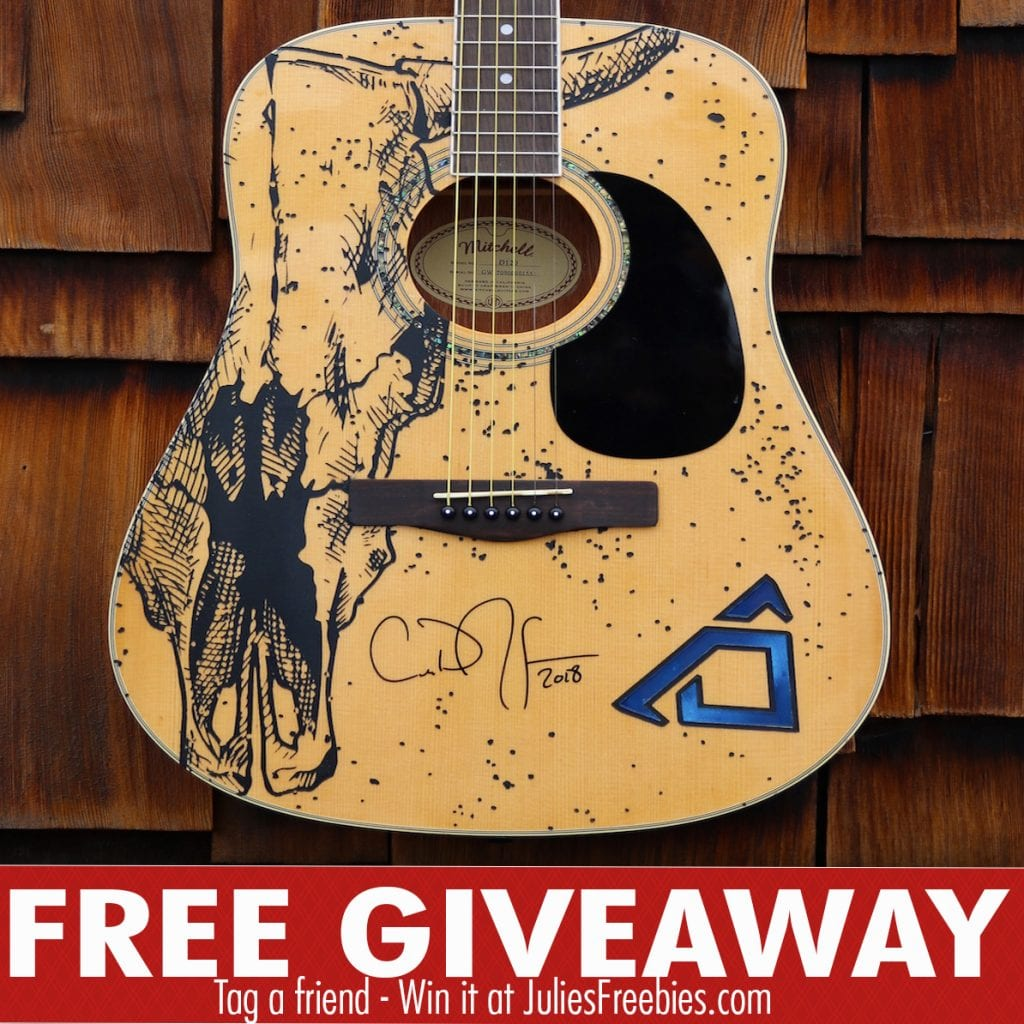 Cody Johnson Signed Guitar Giveaway - Julie's Freebies