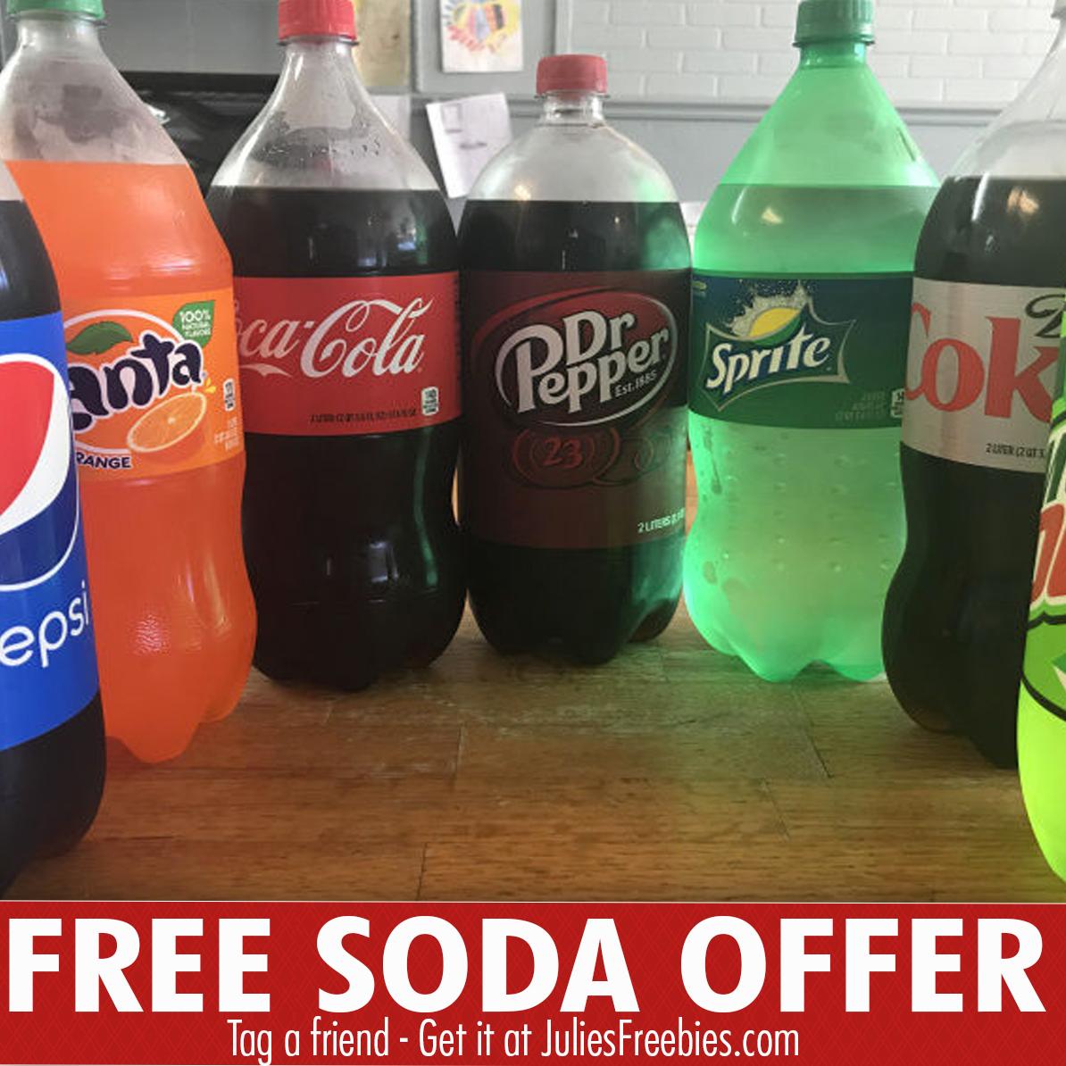 Free 2 Liter Bottle Of Soda At Walmart