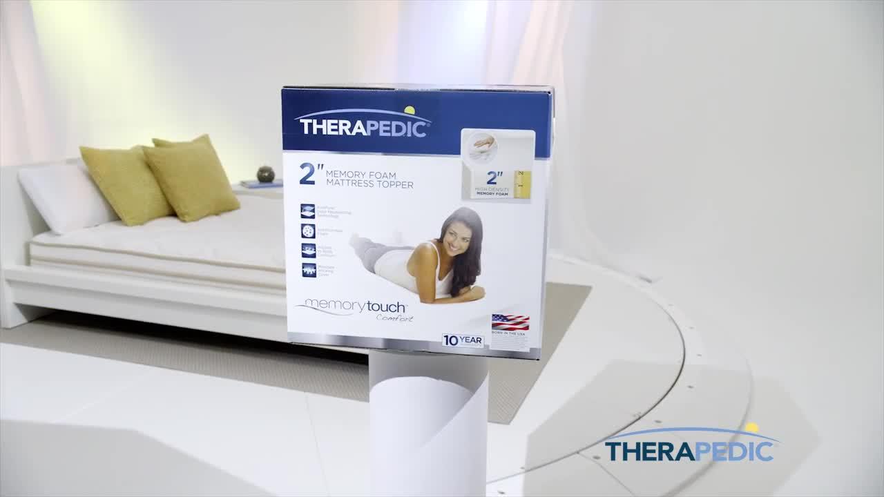 Instantly Win a Therapedic Memory Foam Mattress Topper   Julie's
