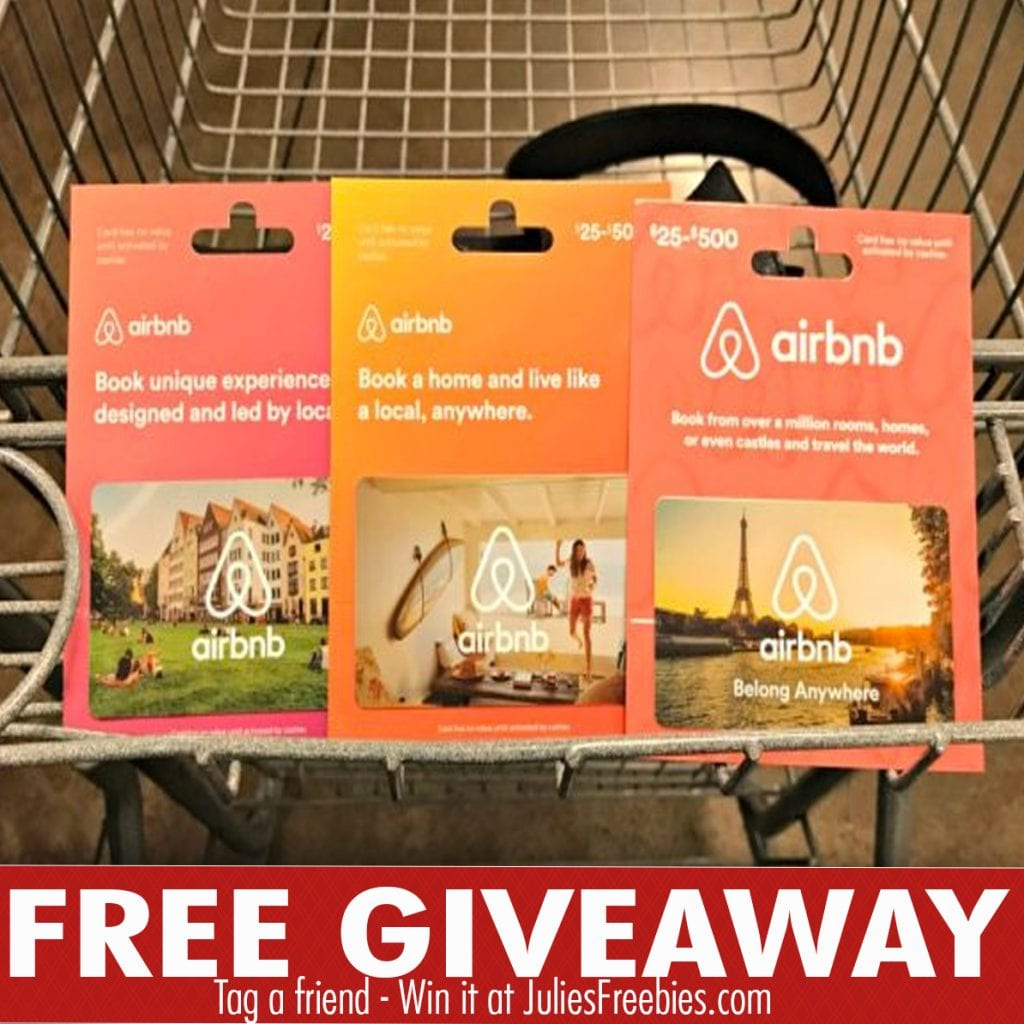 500 Airbnb Gift Card Giveaway Julie S Freebies