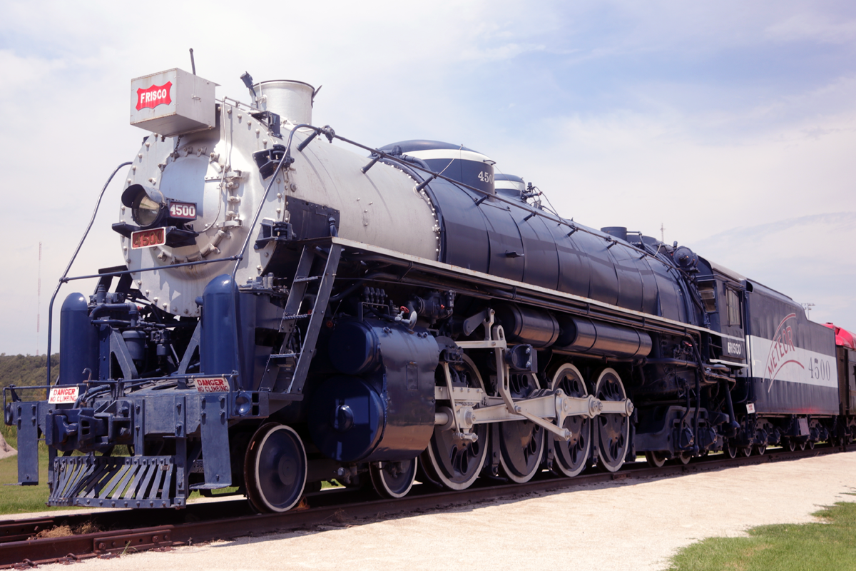 route 66 village train