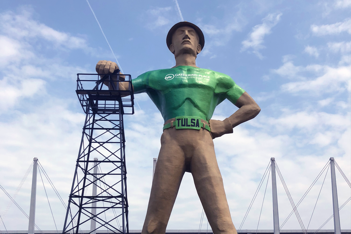 golden driller Tulsa