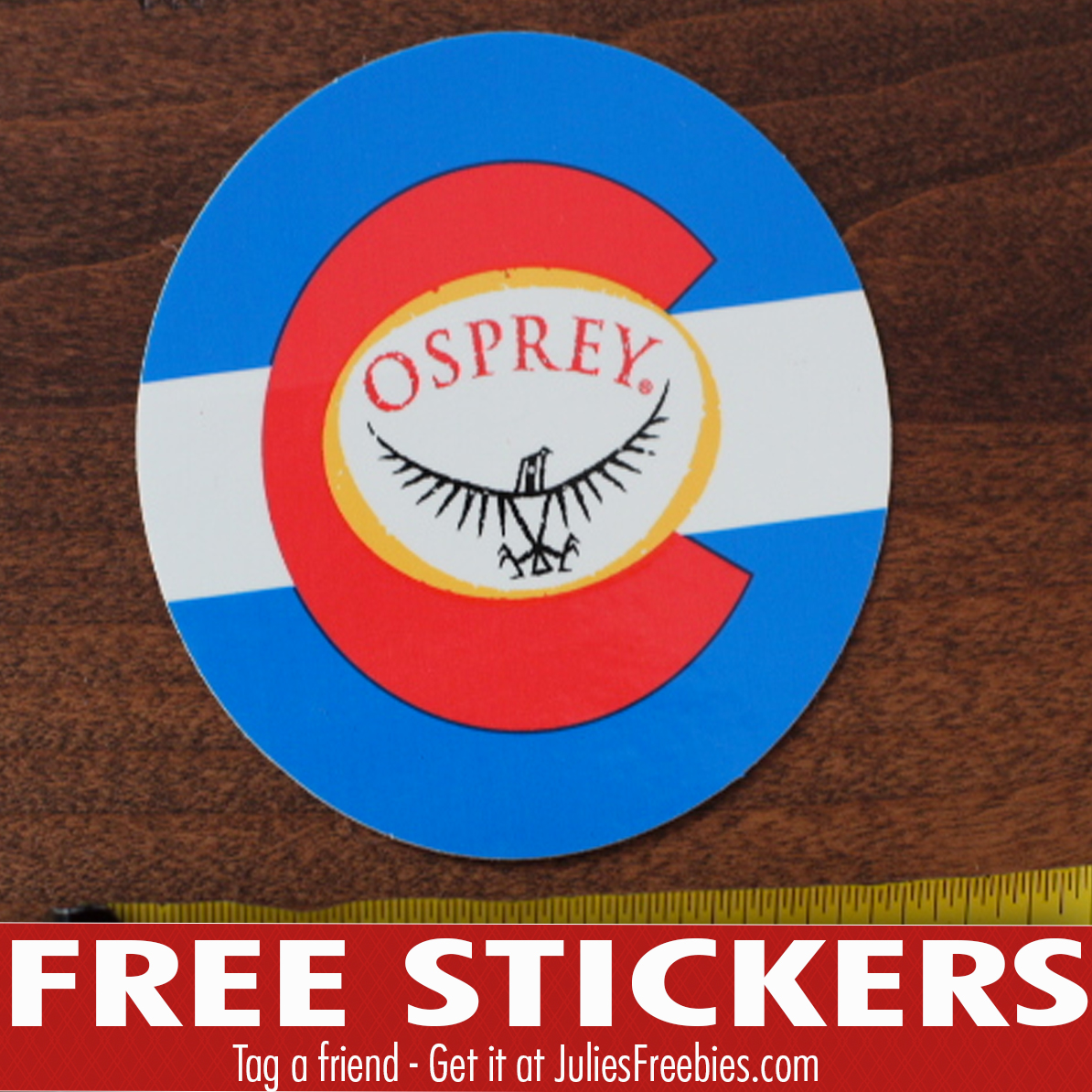Osprey stickers