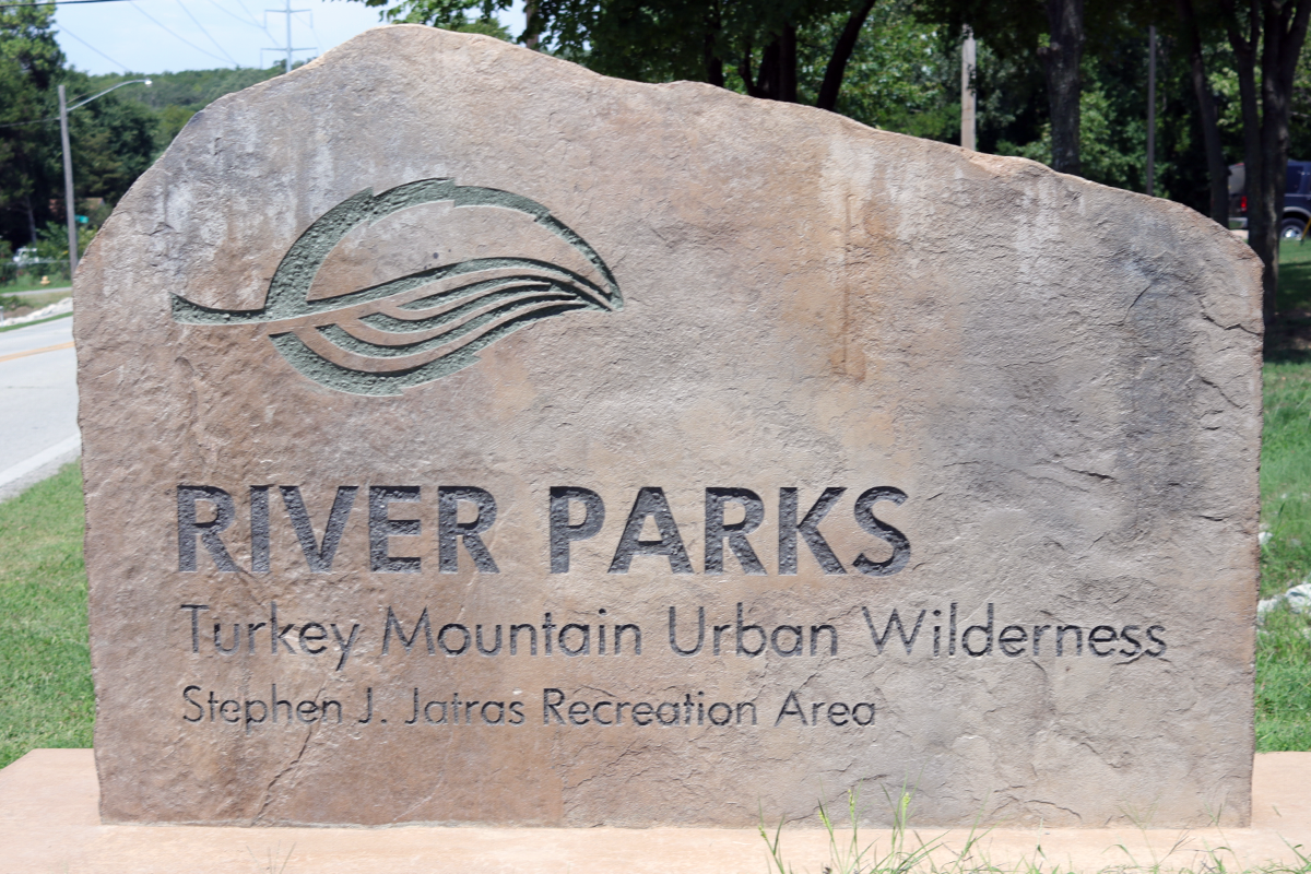 Turkey Mountain Sign