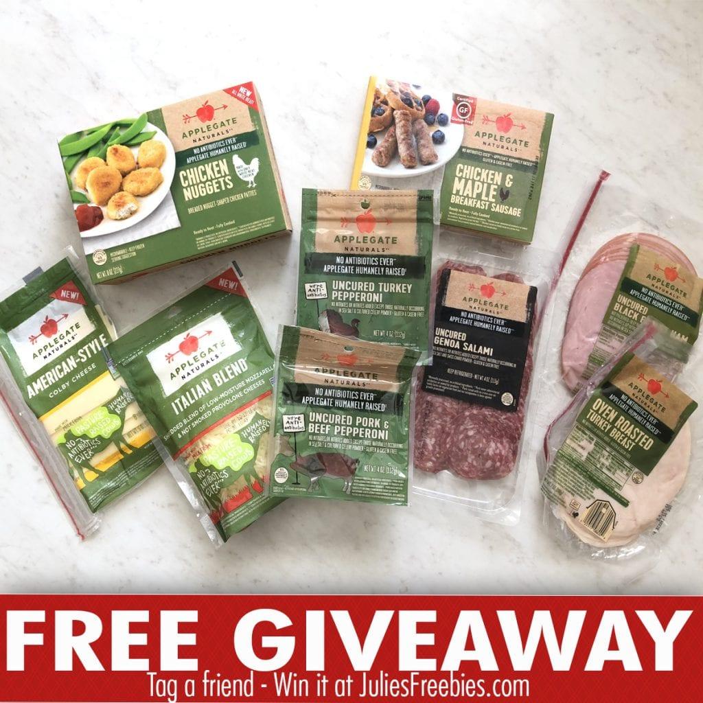 Win an Applegate Meat Prize Pack - Julie's Freebies