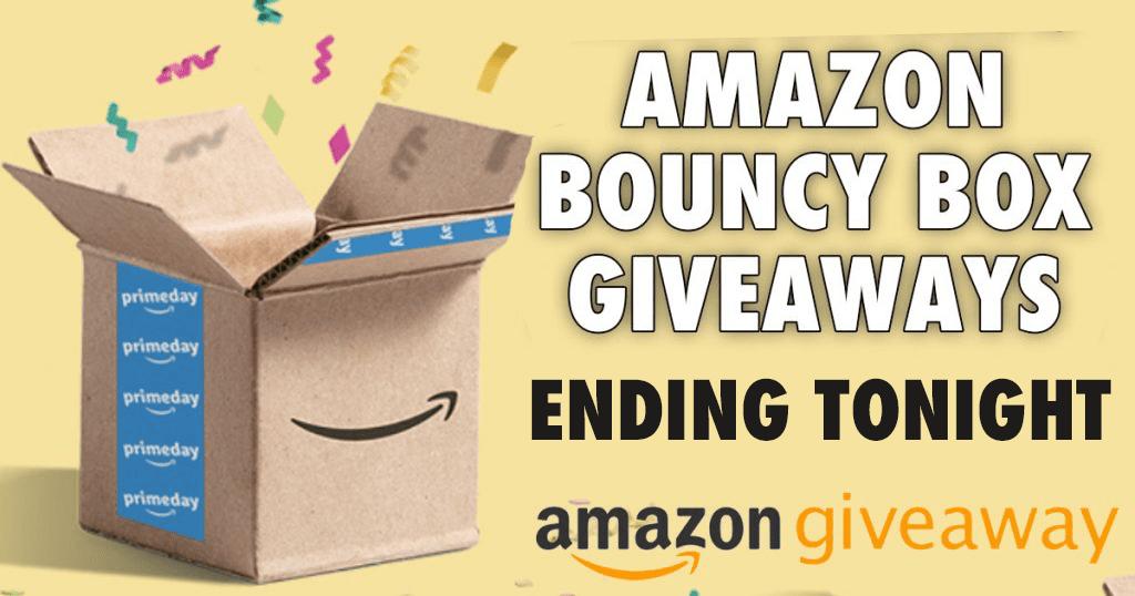 HUGE List of Amazon Giveaways Ending Soon - Julie's Freebies