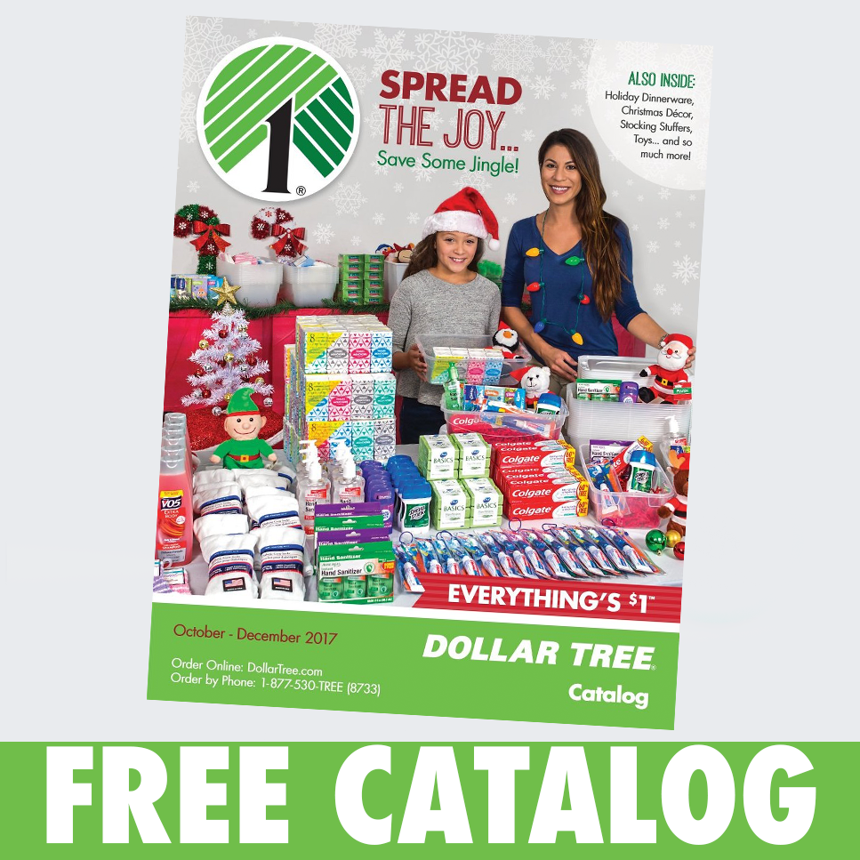 FREE 2018 Dollar Tree Holiday Catalog - Julie's Freebies