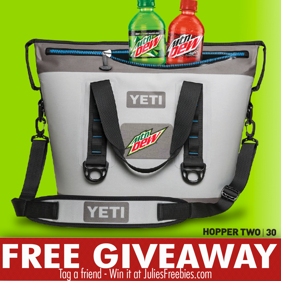 Mountain Dew Yeti-a-Day Sweepstakes - Julie's Freebies