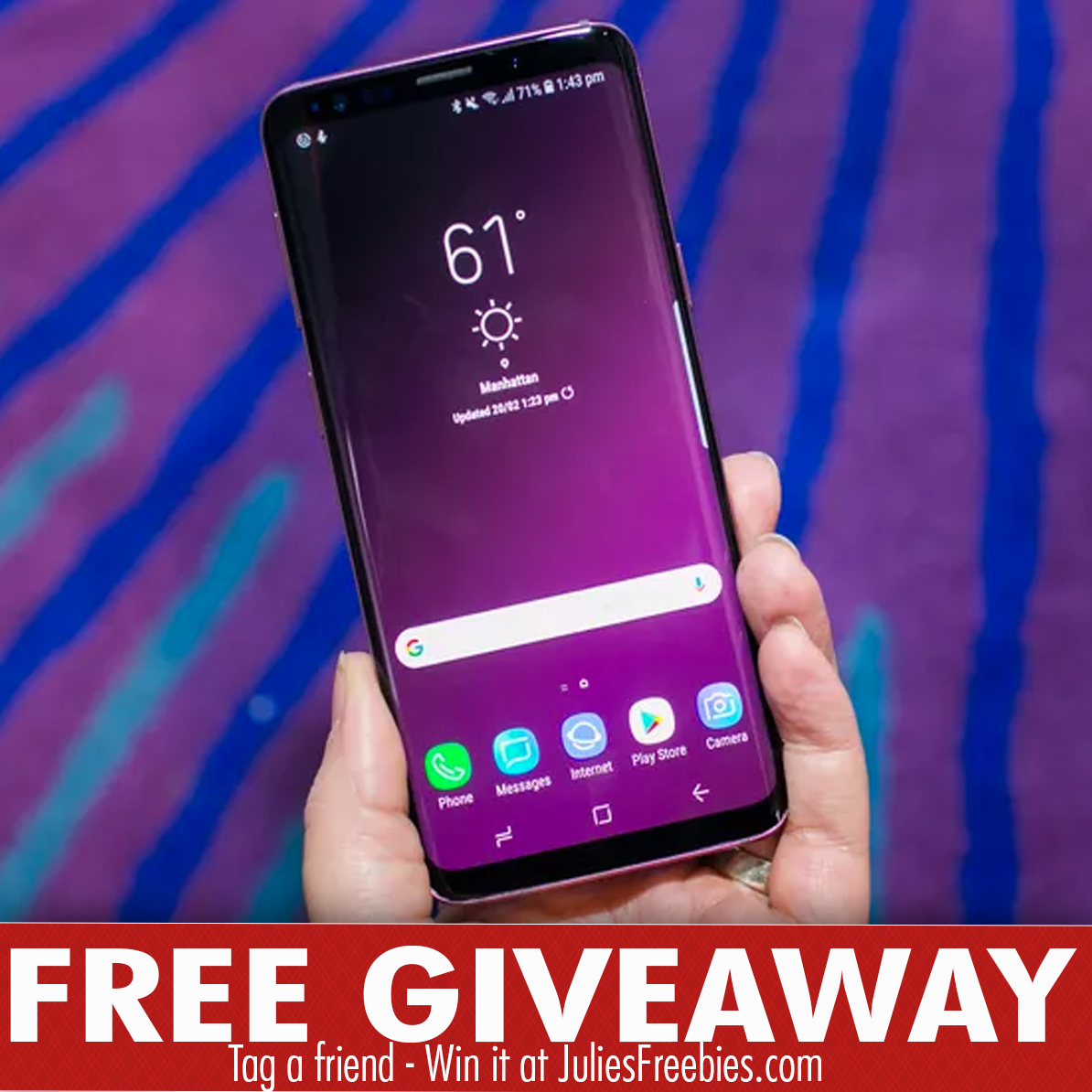 giveaway samsung s9