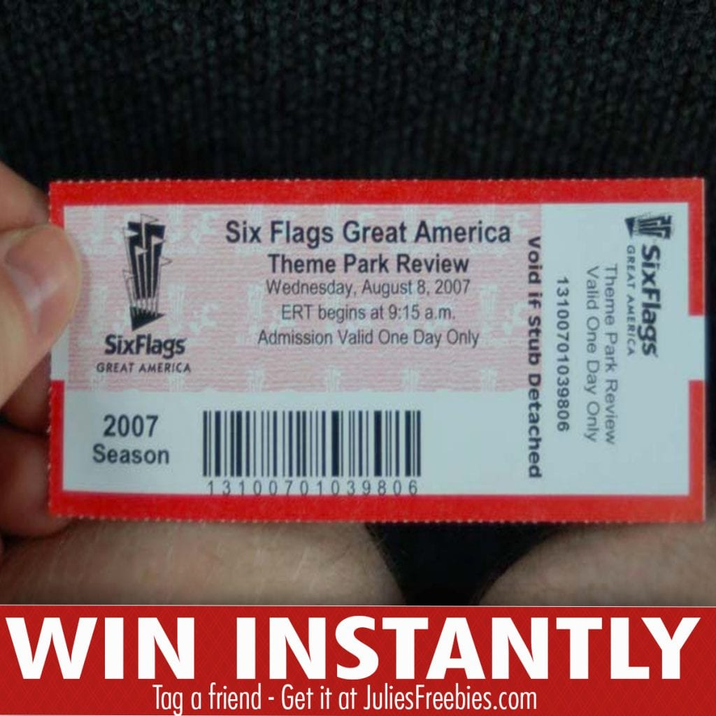 Coca Cola Six Flags Instant Win Game Julie S Freebies