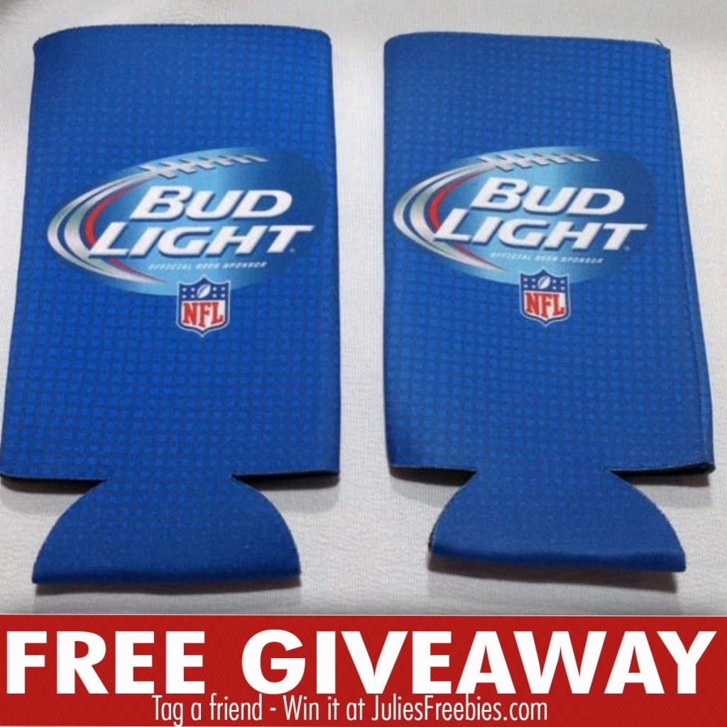 Budweiser and Bud Light Football Coolie Sweepstakes (Select