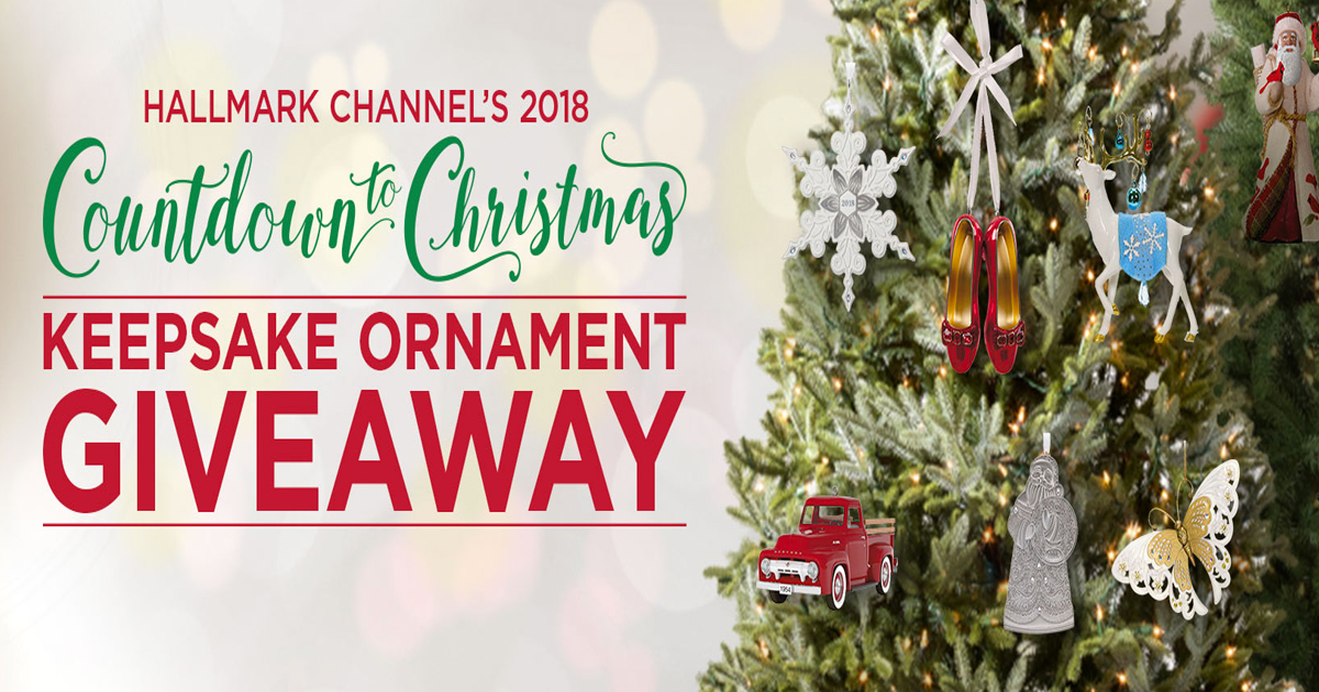 Hallmark Channel S Countdown To Christmas Keepsake Ornament Giveaway Julie Freebies