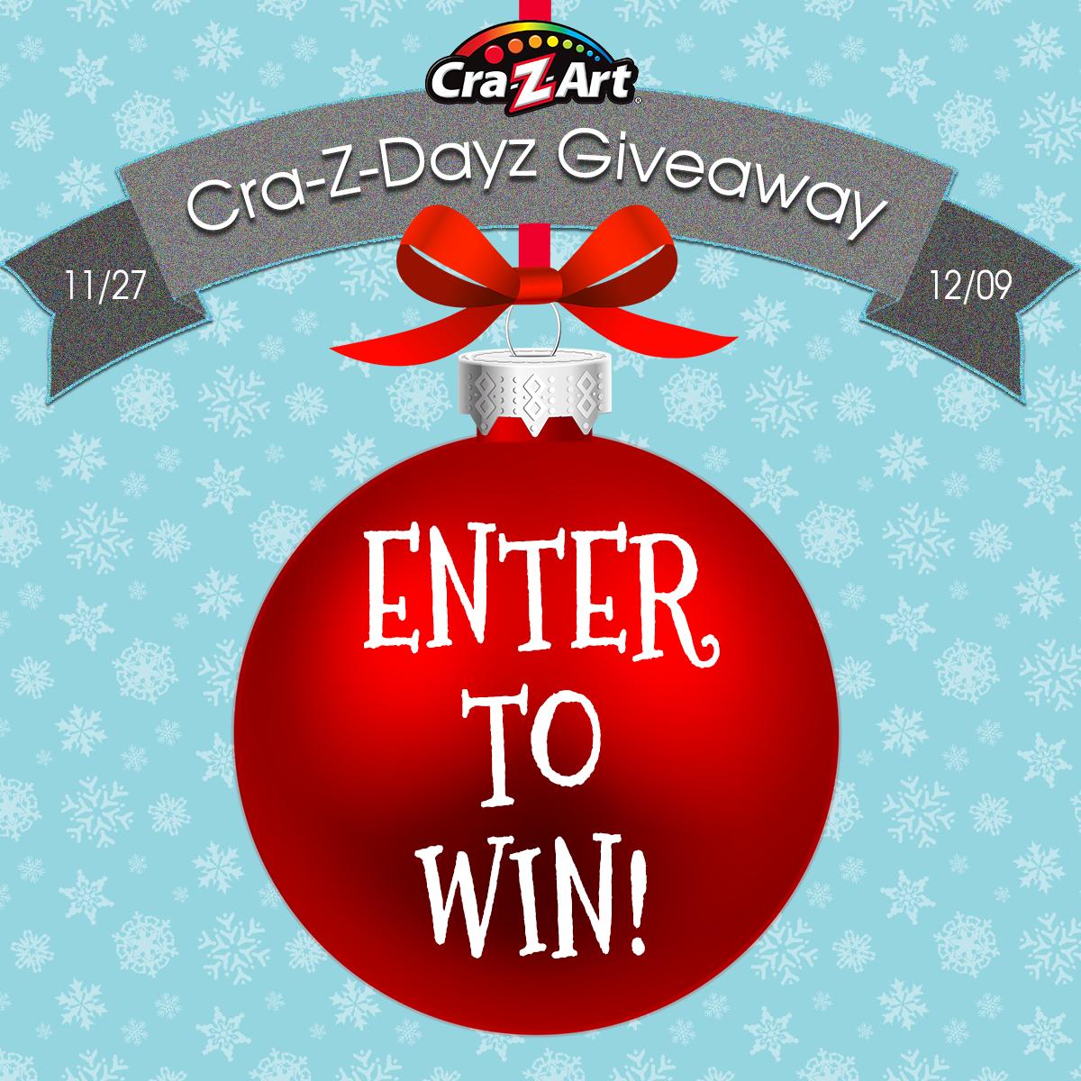 The Cra Z Dayz Giveaway Julie S Freebies