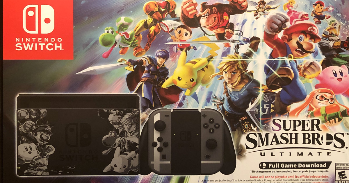 Keith Coast S Super Smash Bros Ultimate Switch Giveaway Julie S