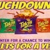 The Touchdown to Takis Sweepstakes