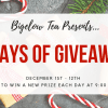The Bigelow Tea 12 Days of Giveaways