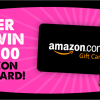 Dave Smith Motors $500 Amazon Sweepstakes