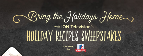 ION TV Holiday Recipes Sweepstakes - Julie's Freebies