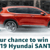 Amazon 2019 Hyundai Santa Fe Giveaway