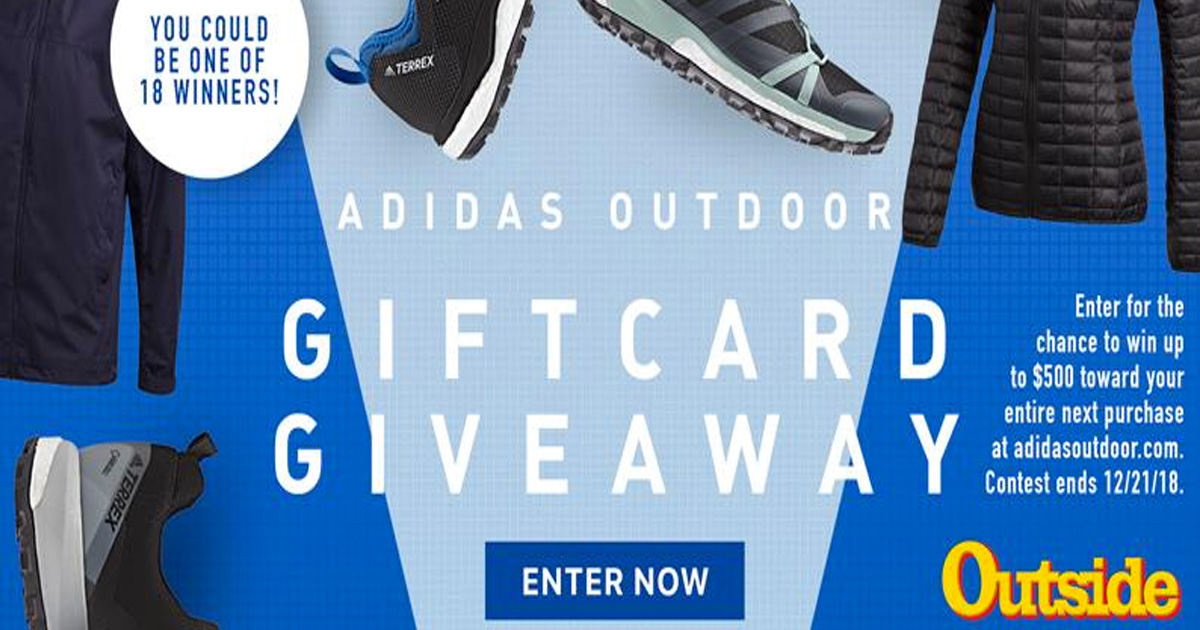 ADIDAS SHOES GIFT CARD GIVEAWAY