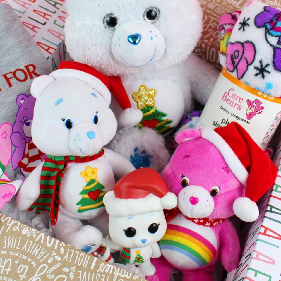 Christmas Wishes Bear.Care Bears Christmas Wishes Care Package Julie S Freebies