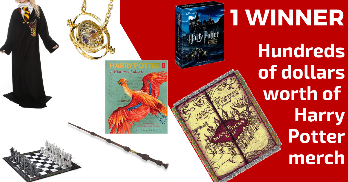 giveaway ideas for a harry potter night