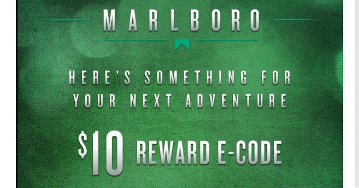 Marlboro Rewards Codes 2019