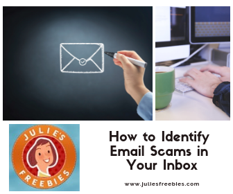 Tips on how to identify email scams