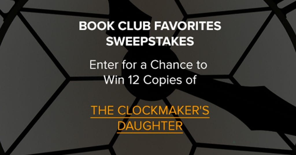 The Clockmaker's Daughter Sweepstakes - Julie's Freebies