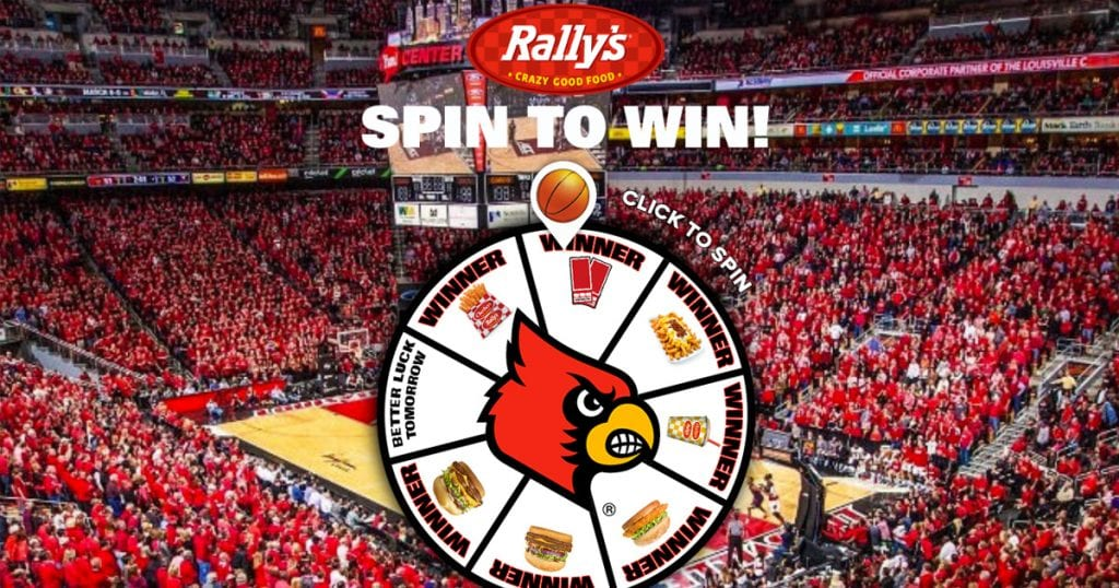 Louisville Rally's Spin to Win Sweepstakes - Julie's Freebies