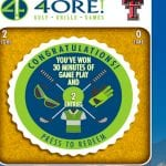 Texas Tech 4ORE Golf Play to Win Sweepstakes & Instant Win Game