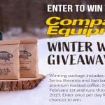 The Compact Equipment Winter Warmer Giveaway