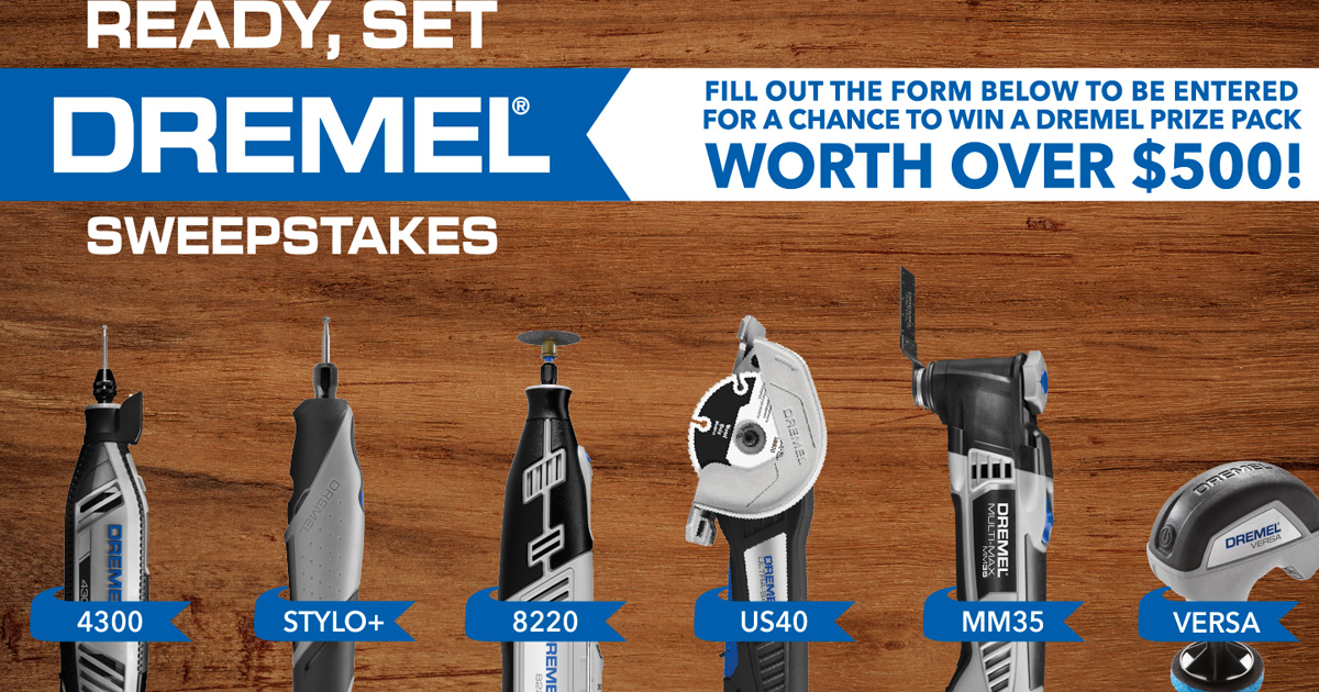 The Ready, Set, Dremel Sweepstakes - Julie's Freebies