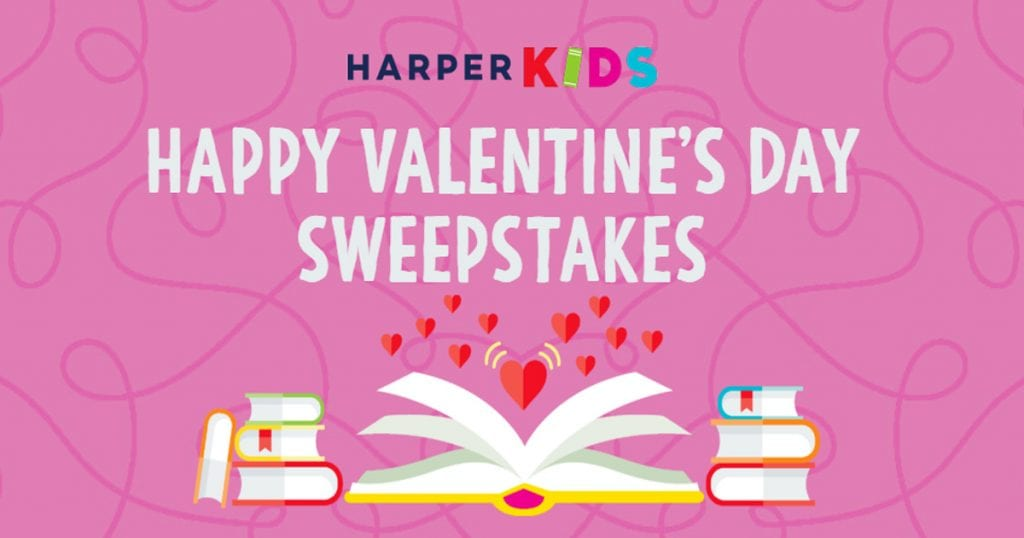 Harper Collin's Valentine's Day Sweepstakes 2019 - Julie's Freebies