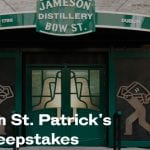 Jameson St. Patrick's Day Sweepstakes
