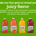"""The Juicy Juice """"What Juicy Juice Flavor Are You?"""" Sweepstakes"""