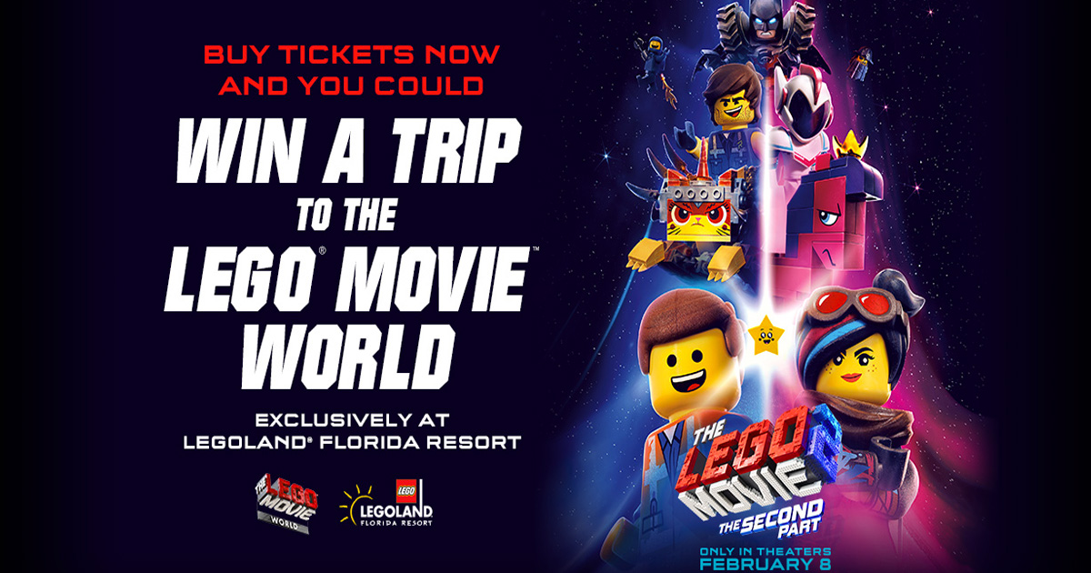 The Lego Movie 2 The Second Part Sweepstakes Julie S Freebies