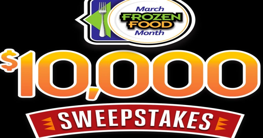The March Frozen Food Month $10,000 Sweepstakes - Julie's