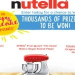 The NUTELLA Happy Pancake Sweepstakes
