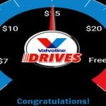 Valvoline Drives Reward Instant Win Game
