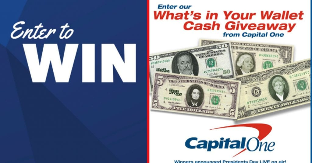 What's in Your Wallet Cash Giveaway - Julie's Freebies