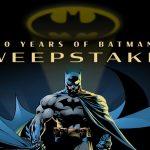 80 Years of Batman Sweepstakes