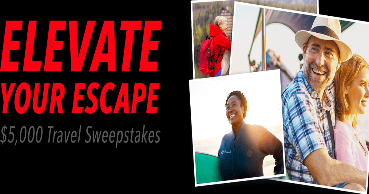 aarp sweepstakes 2019 aarp s elevate your escape 5 000 travel sweepstakes 1069