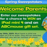 ABCmouse Spring Sweepstakes