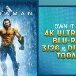 Aquaman on Digital Giveaway