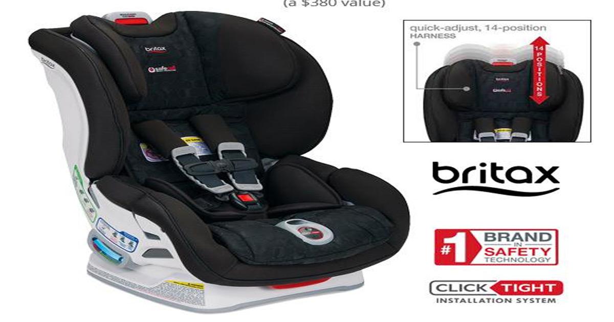 Car Seat Giveaway: Britax Car Seat Giveaway