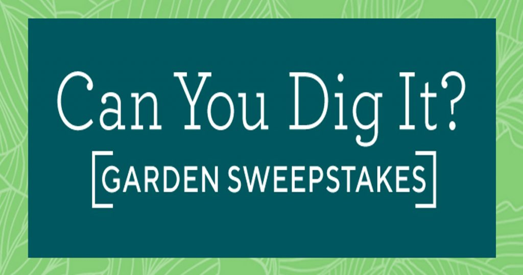 QVC's Can You Dig It? Garden Sweepstakes - Julie's Freebies